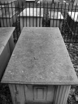 James Robertson Tomb