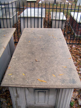 James Robertson Tombstone