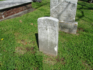 Footstone for Martha Cotton
