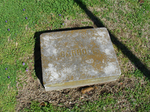 Carroll Footstone