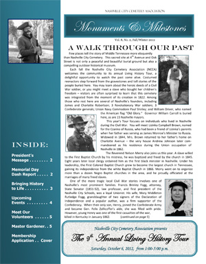 Fall Newsletter Cover 2012